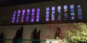 Salvatorfenster am Abend
